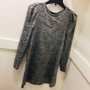 Zara NWOT clear sequins dress